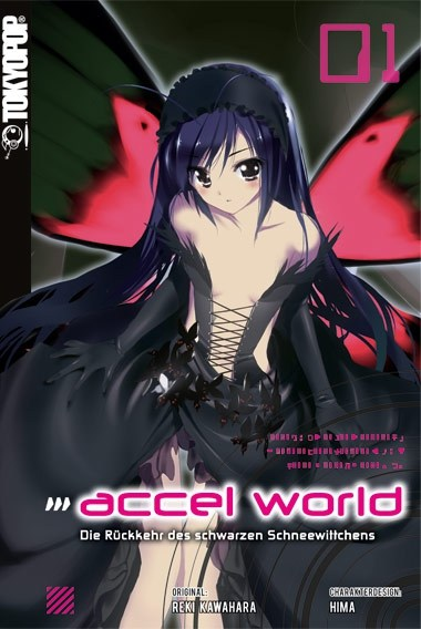 Manga Test: Accel World – Band 01 (Review)