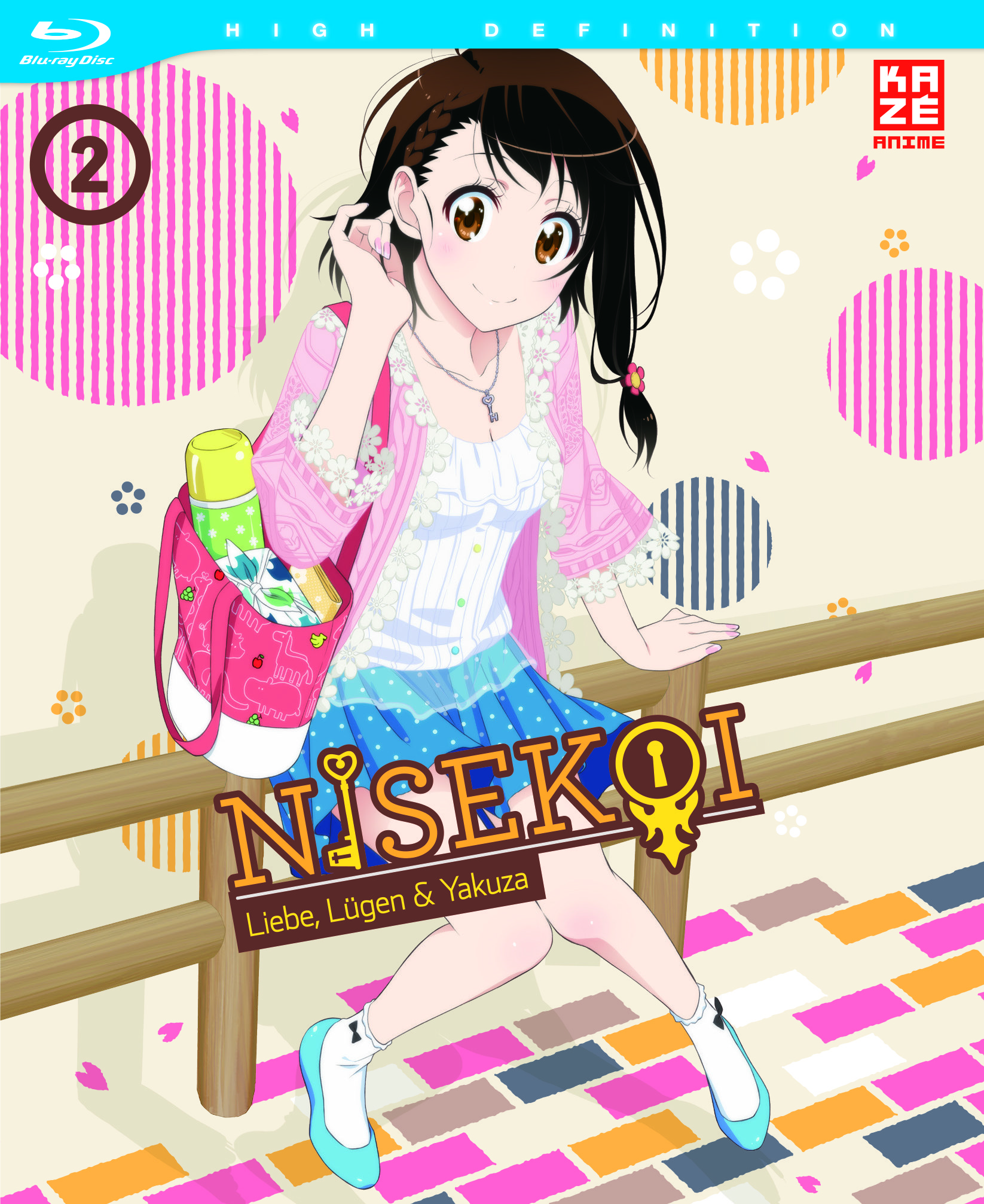 ~Nisekoi~ Vol.1-4 Bluray Test