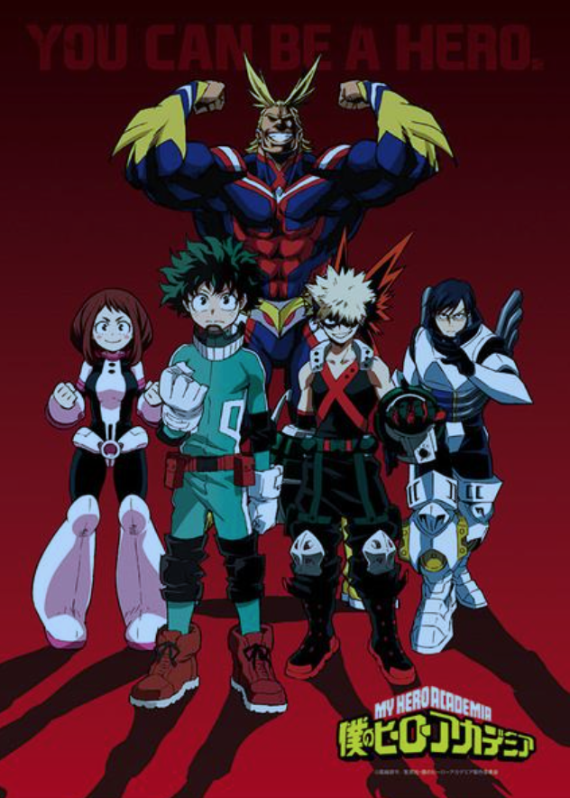 Superhelden Action mit My Hero Academia