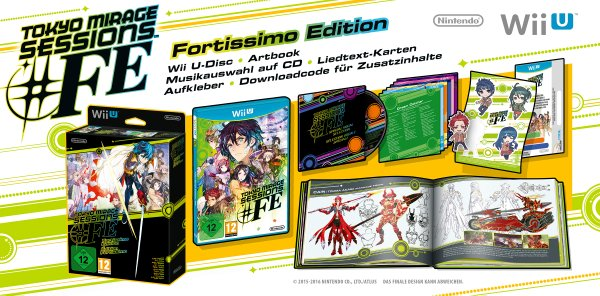 Nintendo spendiert Tokyo Mirage Sessions #FE eine Collector's Edition