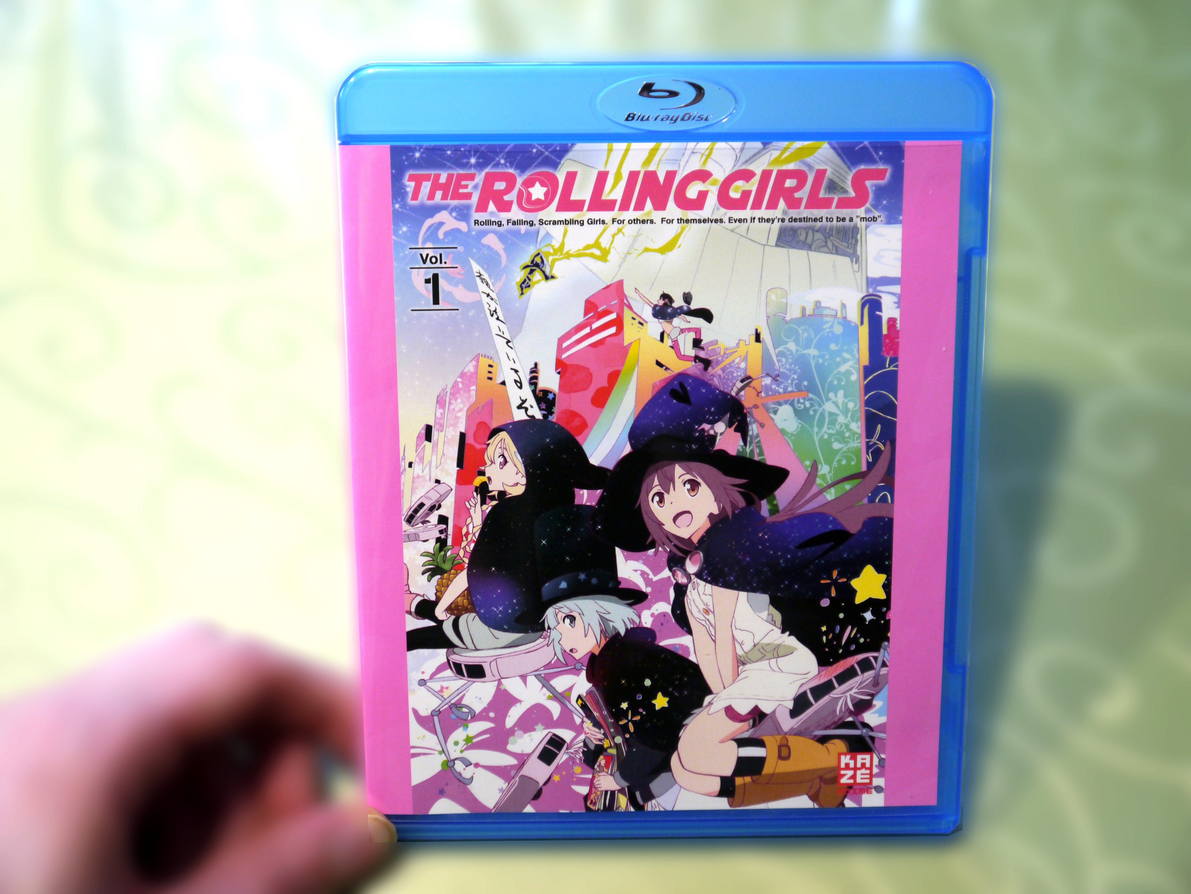 Rolling Girls Bluray Cover