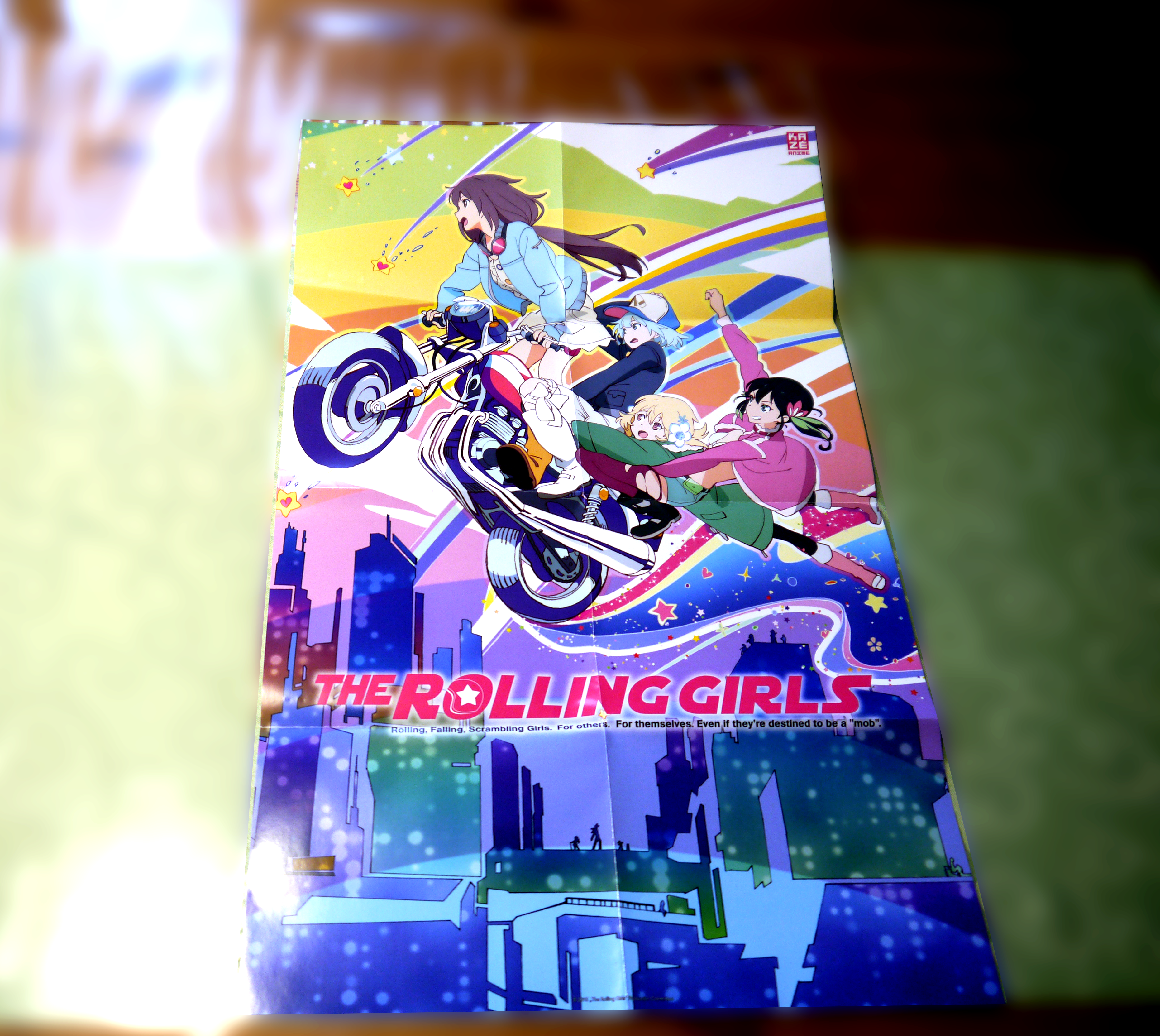 Rolling Girls Poster