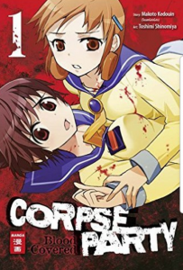 Corps-Party-Blood-Covered-Manga-Test