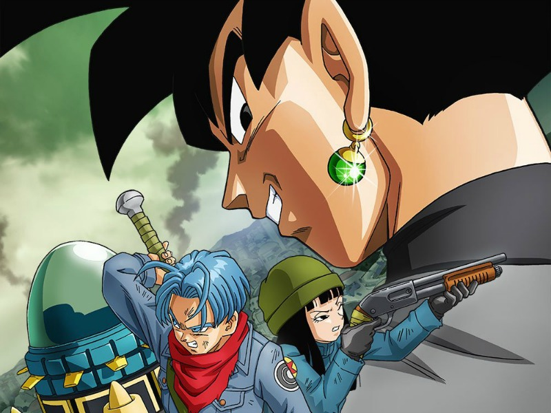 Trailer und Feind von Dragon Ball Super: Future Trunks