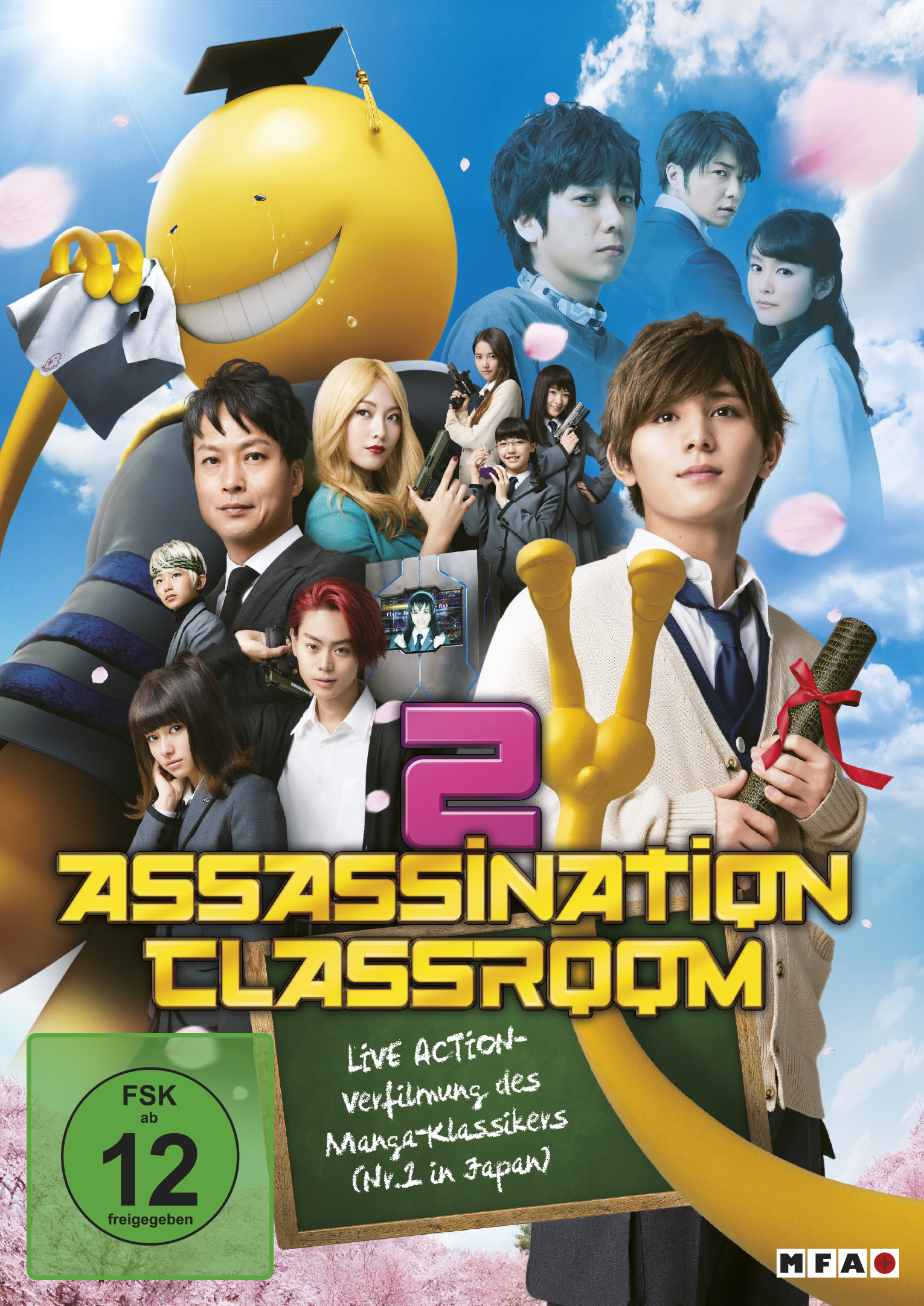 Assassination Classroom – Live Action Trailer mit Deutschen Untertiteln