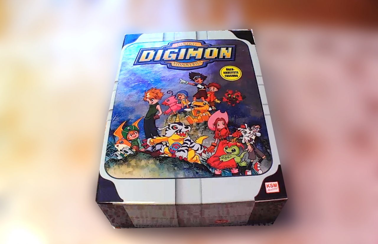 ~Digimon Adventure 01 – Vol. 1 (inkl. Sammelschuber) ~ DVD Test / Review