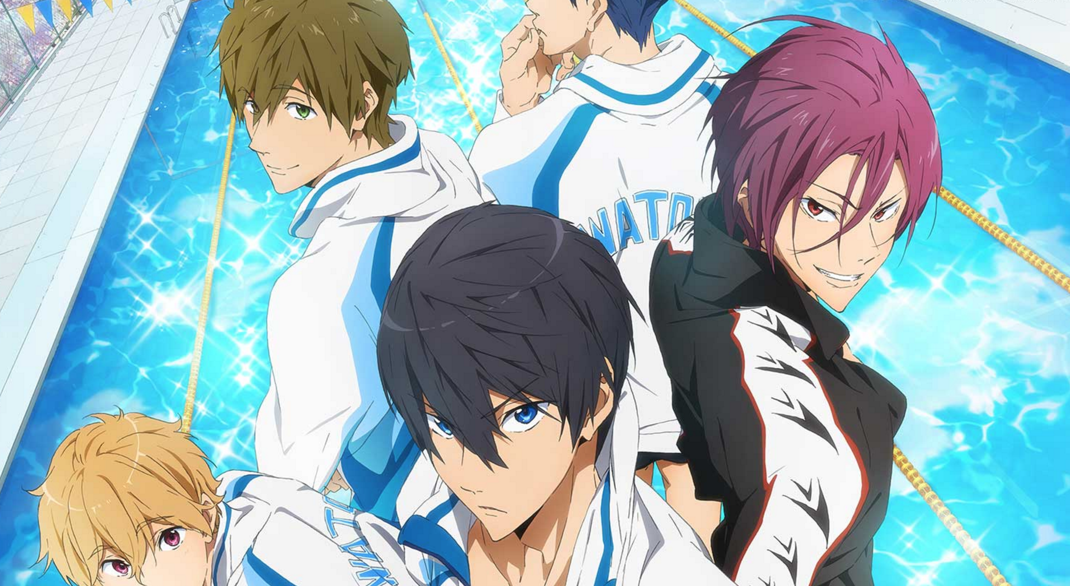 Free! ab August bei Animax on Demand