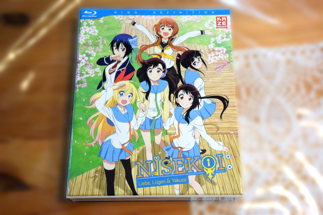 ~Nisekoi – 2. Staffel – Vol. 1 ~ Bluray Test / Review