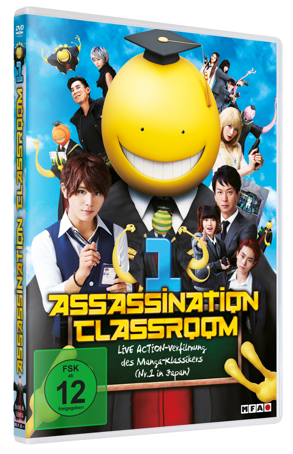 Assassination-Classroom-1-DVD-Test-Review-Cover
