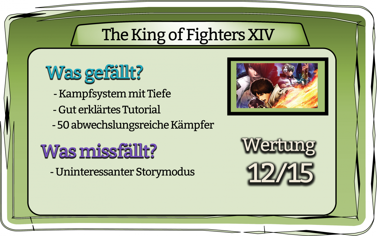 King of Fighters Fazit