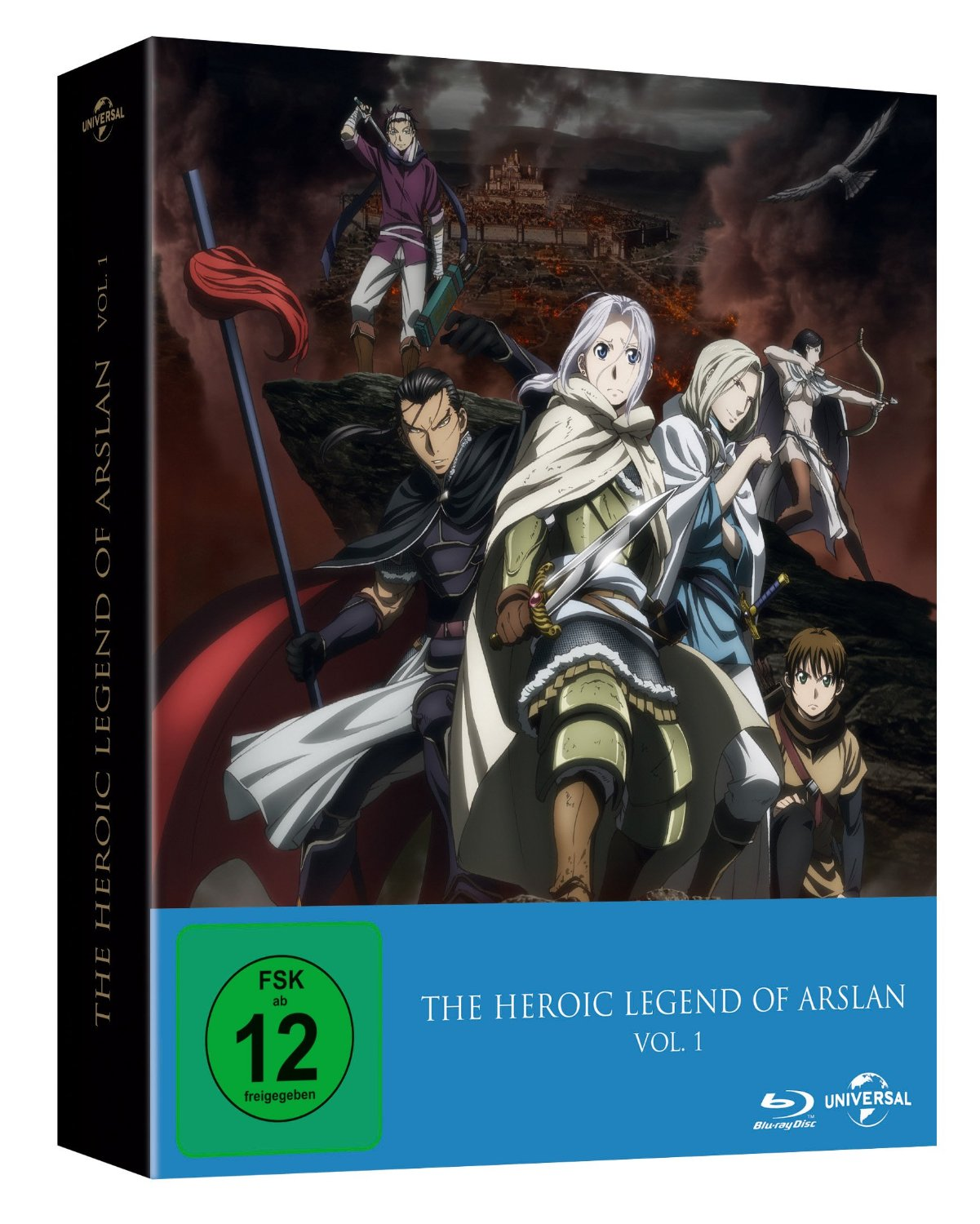 ~The Heroic Legend of Arslan – Vol. 1 (Ep. 1-13) ~ DVD Test / Review
