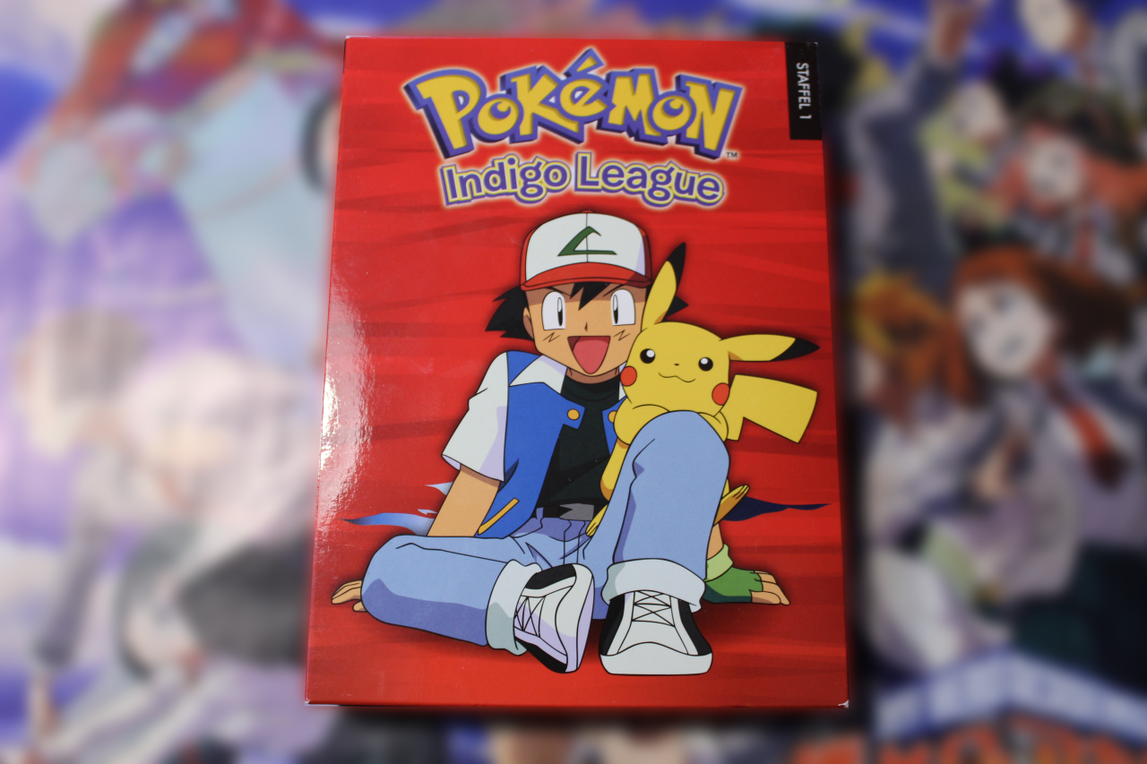 ~Pokémon Staffel 1: Indigo Liga  – Box 1 ~ DV Test / Review