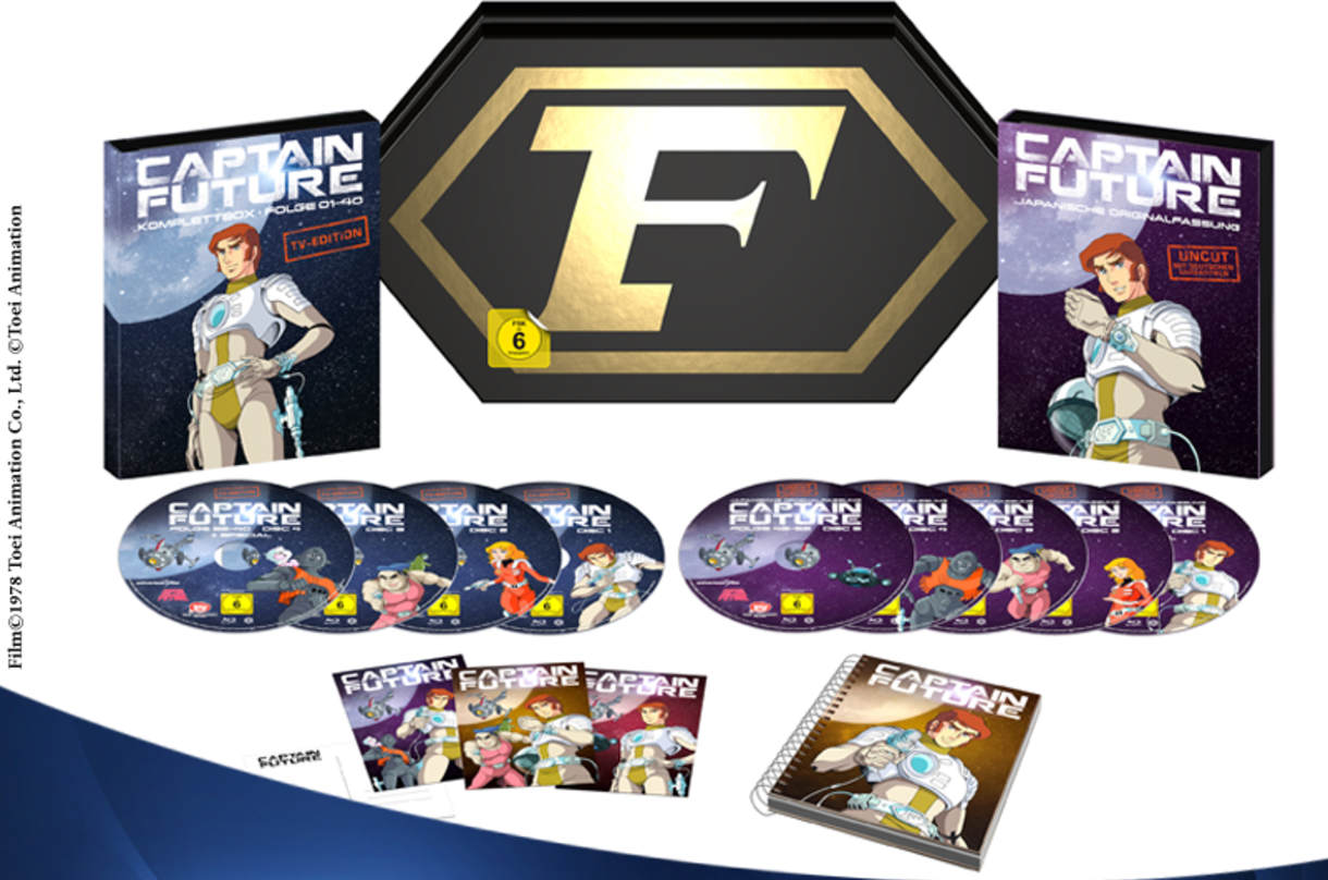 Captain Future – Collector's Edition erscheint exklusiv bei Amazon