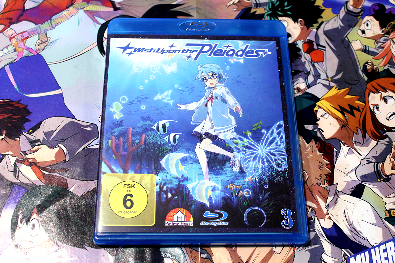 ~Wish Upon The Pleiades – Vol. 3 ~ Bluray Test / Review
