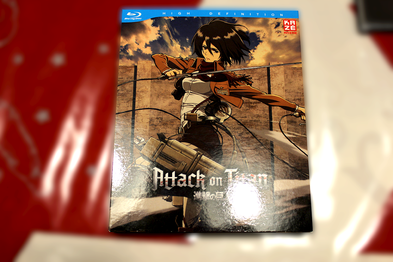 ~ Attack On Titan – Vol. 2 ~ Bluray Test / Review