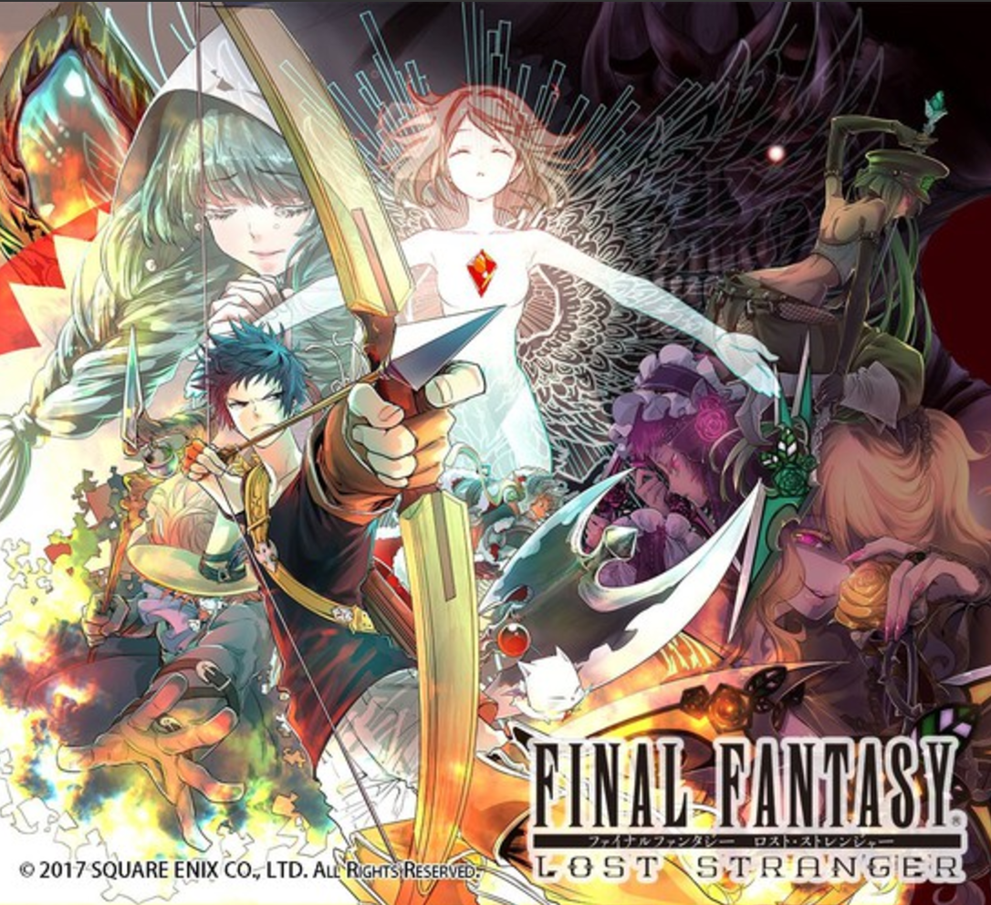 "Final Fantasy's 1st Original Manga ""Lost Stranger"" in Arbeit"