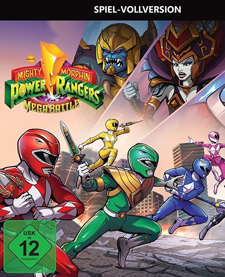 Mighty Morphin Power Rangers: Mega Battle – PS4 Test / Review