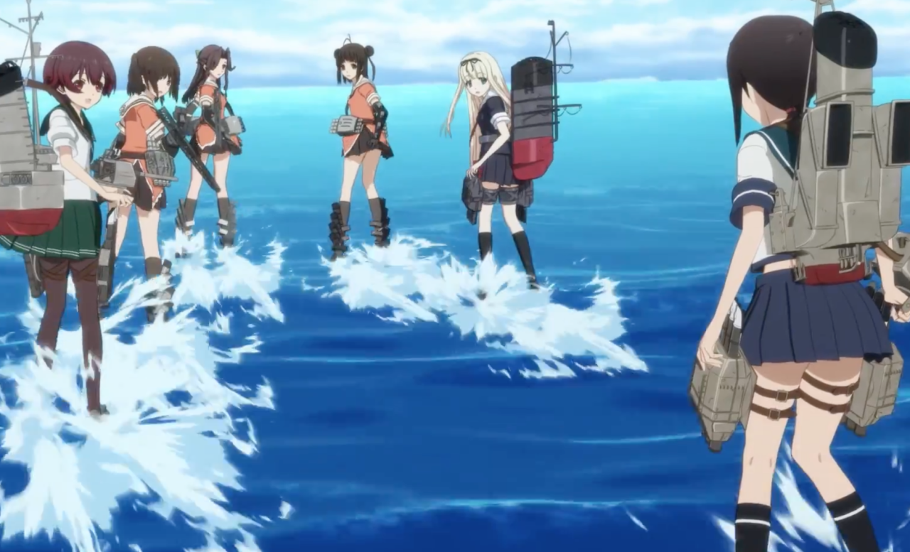 Kancolle-Kantai-Collection-Bluray-DVD-Test-Vol-1-Review-010