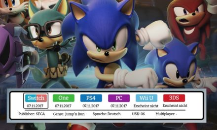 Sonic Forces – Nintendo Switch Test / Review