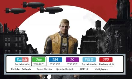 Wolfenstein 2 – Xbox One Test / Review