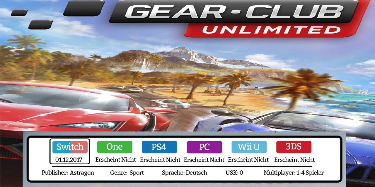 Gear.Club Unlimited – Nintendo Switch Test / Review