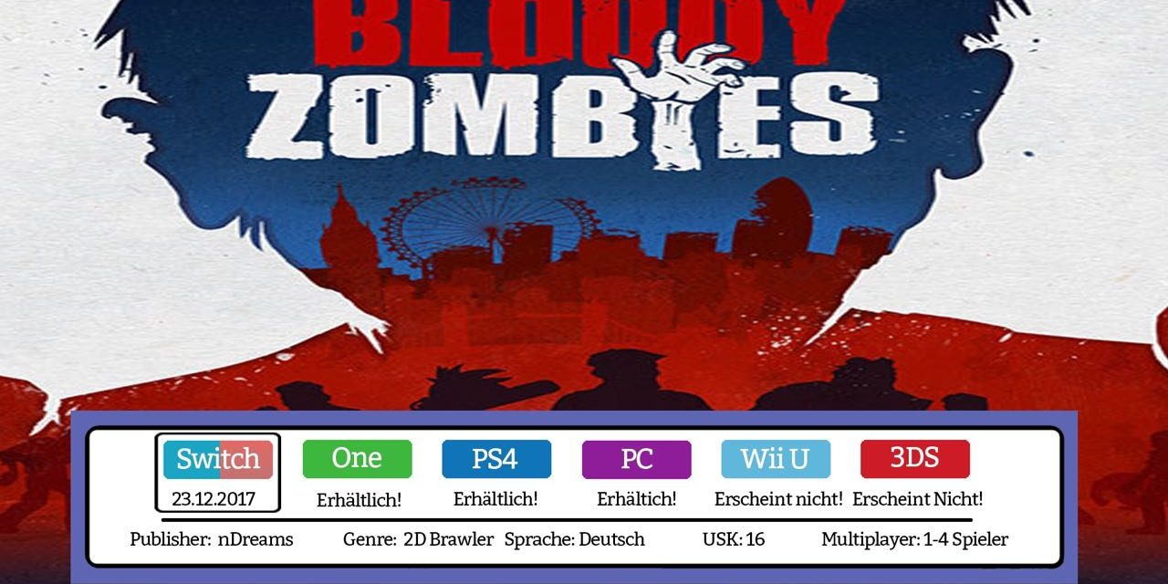 Bloody Zombies – Nintendo Switch Test / Review