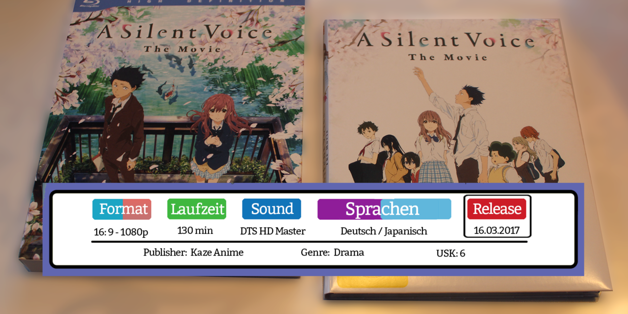 A Silent Voice – The Movie ~ Bluray Test / Review