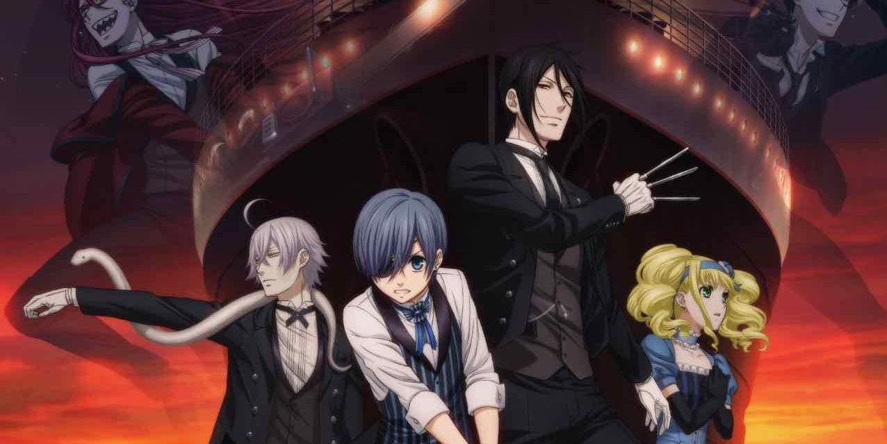 "KAZÉ Anime bringt ""Black Butler: Book of the Atlantic"" in den Handel"